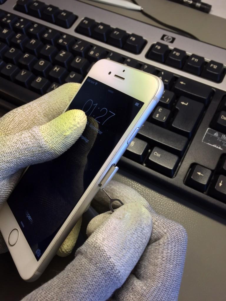 iPhone 6S Sim-Karte einlegen