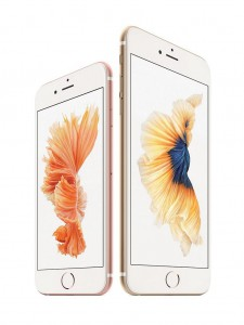 iPhone 6S Rose und Gold