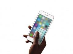 iPhone 6S in der Hand