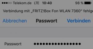 iPhone WLAN geht nicht Meldung