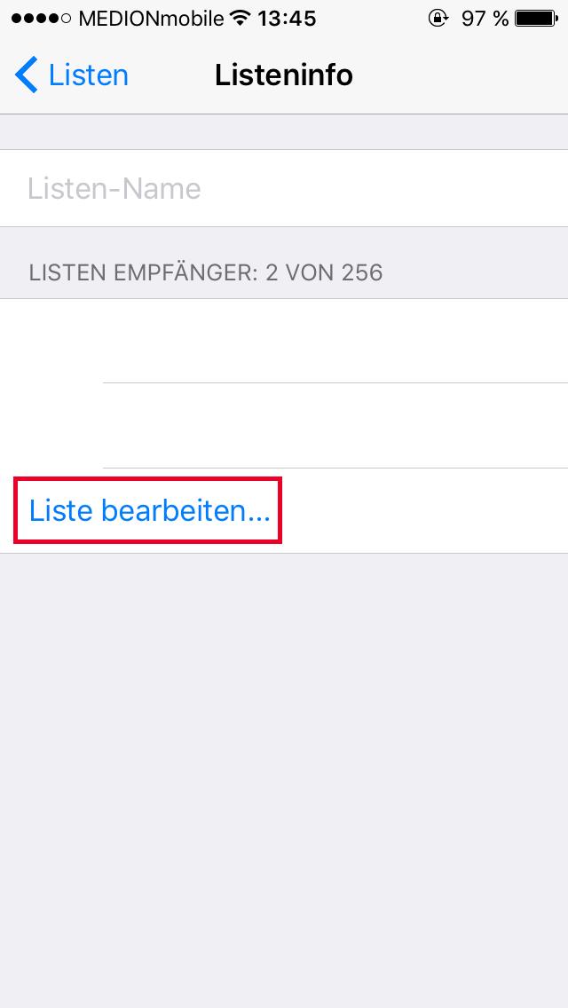 Mitteilen neue whatsapp allen nummer Neue Handynummer: