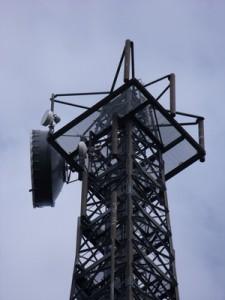 5G und LTE Funkmast
