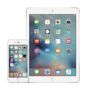 iPhone 6s und iPad