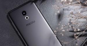 Meizi Pro 6 Rückseite schwarz