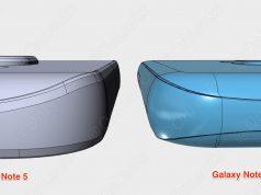 Galaxy Note 5 vs. 7 Tiefe