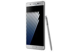 Galaxy Note 7 Silber Vorderseite
