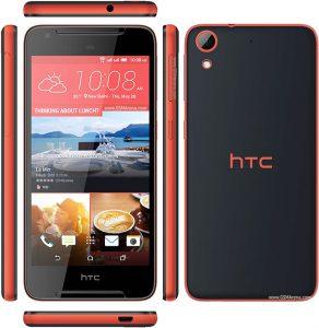HTC Desire 628 in schwarz orange