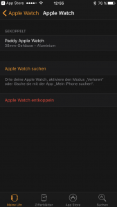 Apple vom iPhone entkoppeln