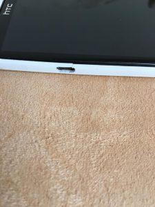 HTC One X Rahmen gebrochen