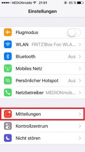 WhatsApp Push Notifications Mitteilungen