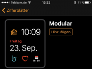 Apple Watch Zifferblatt ändern