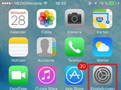 iPhone Kontakte sortieren Einstellungen