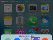 iPhone Nicht stören Kontrollzentrum