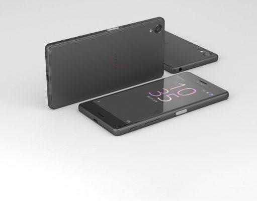 Sony Xperia X in Schwarz grau