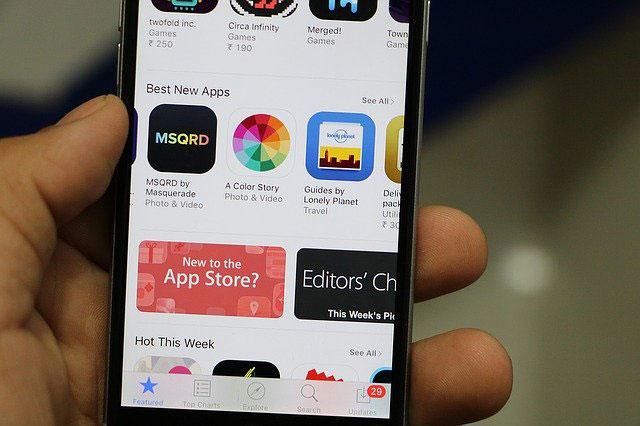 Virus iPhone App Store