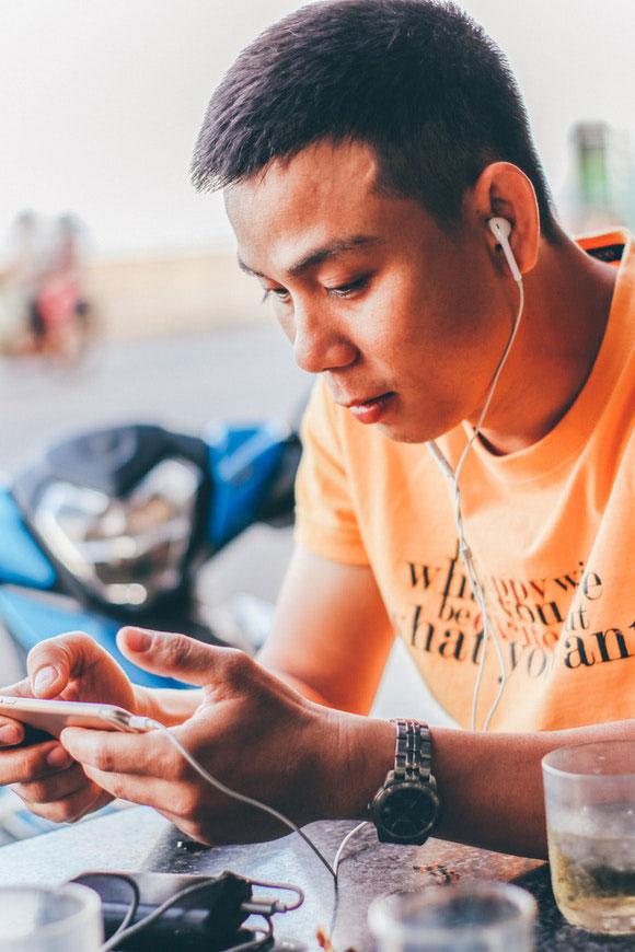 Gaming online Smartphone
