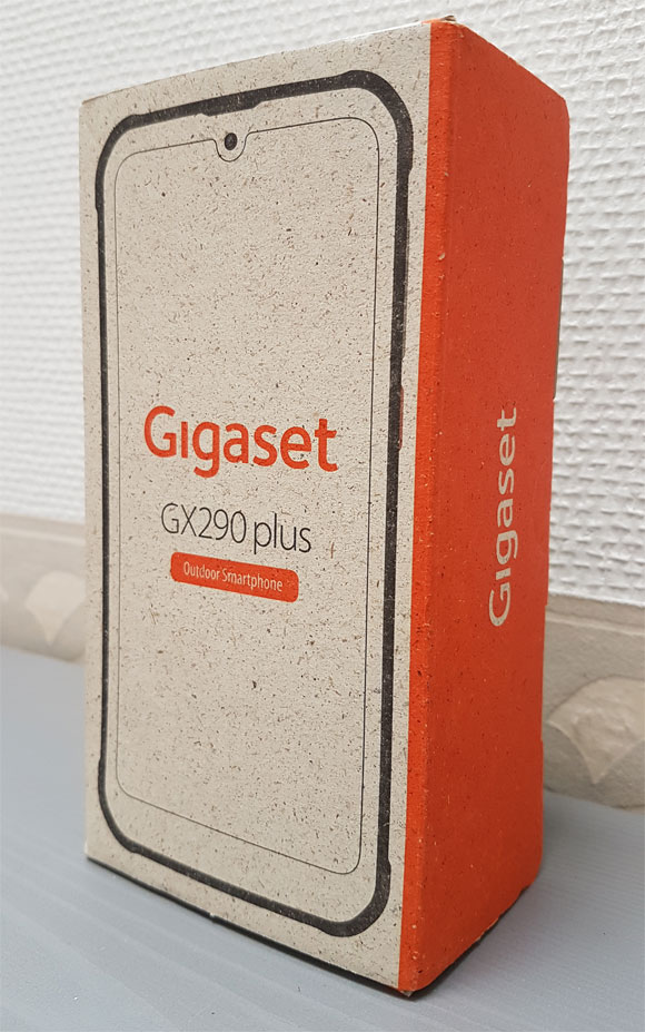 Verpackung Praxistest Gigaset GX290 Plus